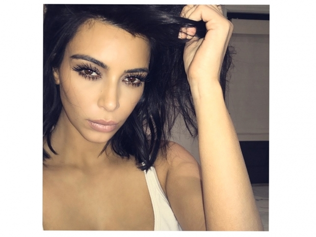 Kim Kardashian reveals her thick, bold brows are her new favourite feature
