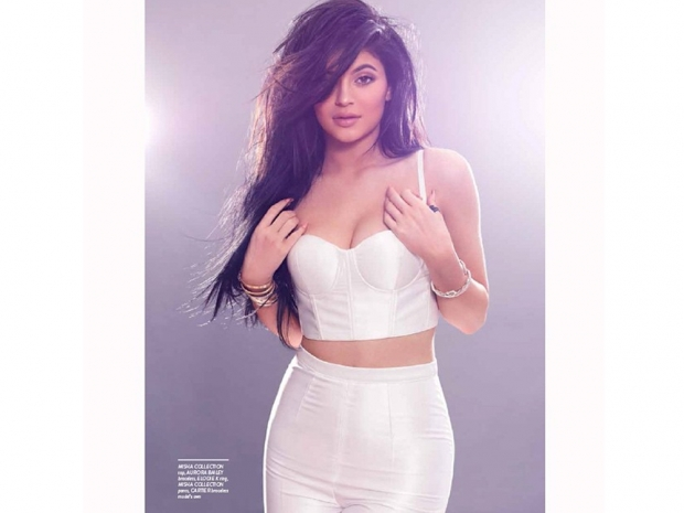 kylie jenner for remix magazine in white