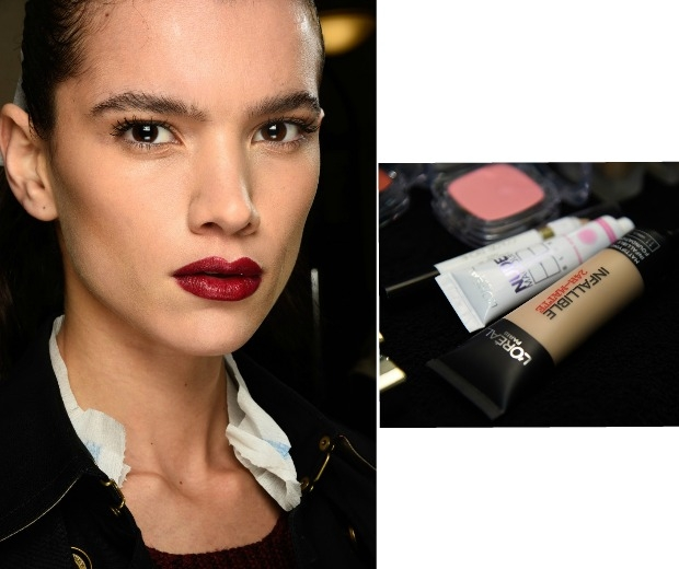 Matte skin at Julien Macdonald was used creating L'Oreal Paris new foundation