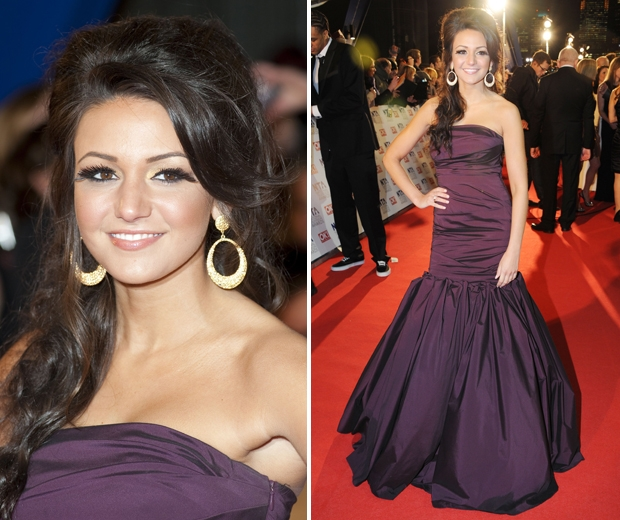The 2011 NTAs look Michelle Keegan would rather forget...