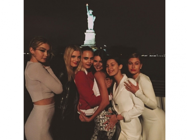 The model elite were out in full force for Chanel's New York cruise