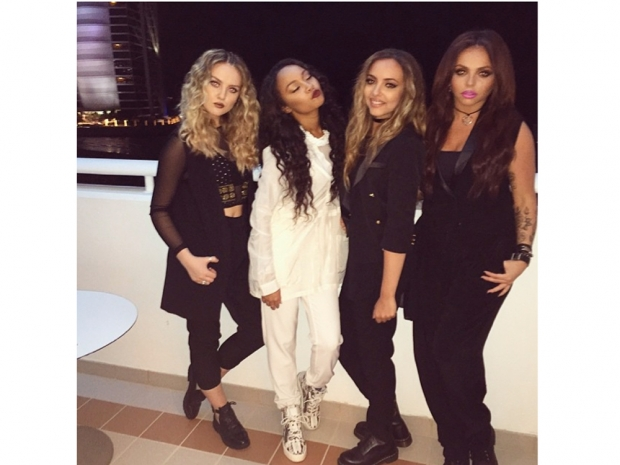 The Little Mix girls performed on X Factor Arabia in Dubai
