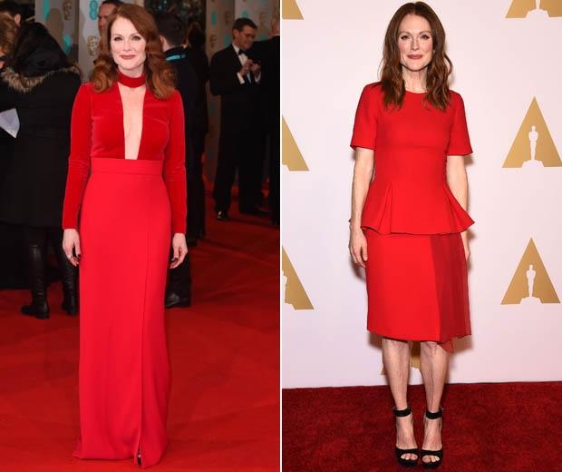 julianne moore in red