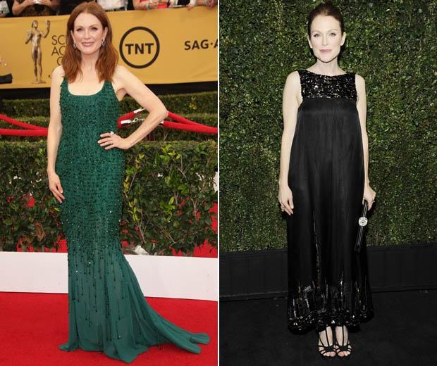 julialnne moore in embellished dresses