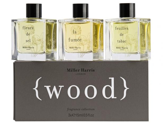 Miller Harris Wood Fragrance Minis