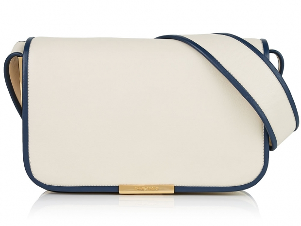 See by Chloé Flapover Piping Detail Shoulder Bag