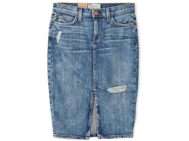 CURRENT/ELLIOTT High Waisted Pencil Skirt