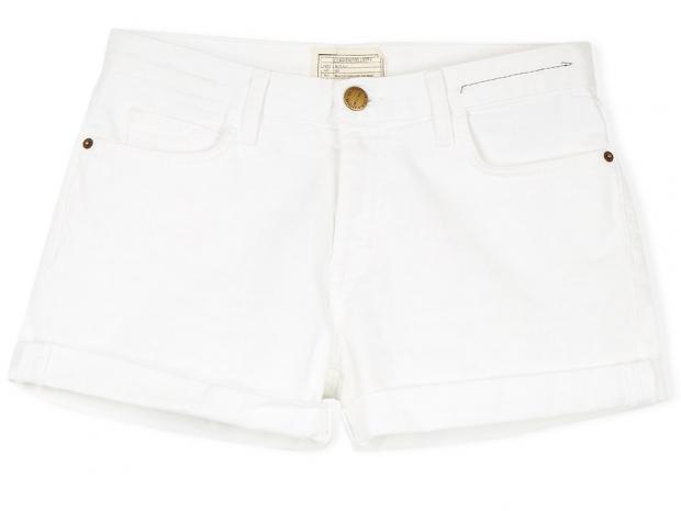 CURRENT/ELLIOTT Boyfriend Roller Shorts