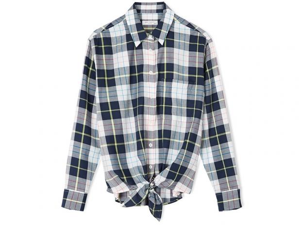 Equipment Long Sleeve Check Shirt