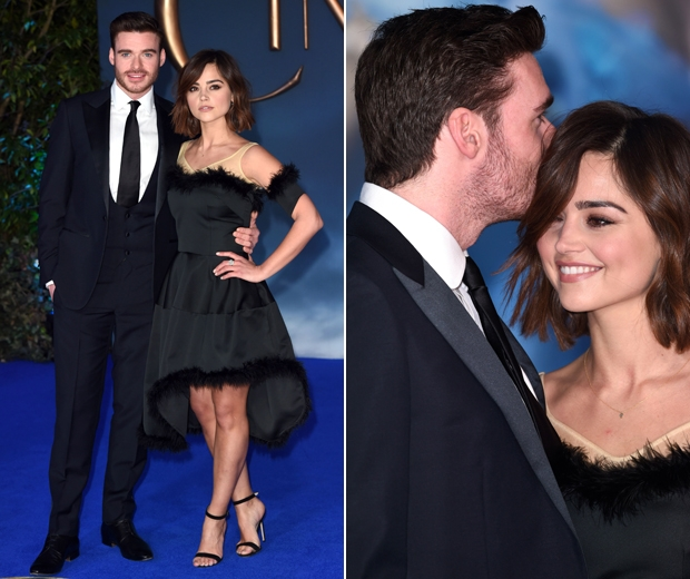 Richard Madden with girlfriend Jenna-Louise Coleman
