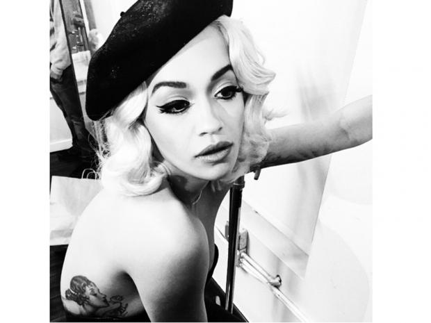 Rita Ora was seen flaunting retro Hollywood waves just last weeek