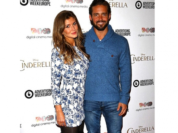 Spencer Matthews and girlfriend Lauren Hutton wearing Lavish Alice