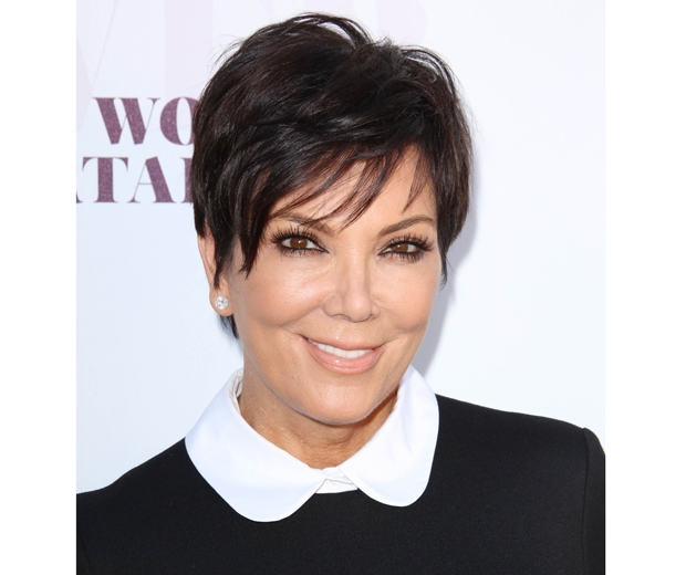 Kris Jenner is famous for her super-short style