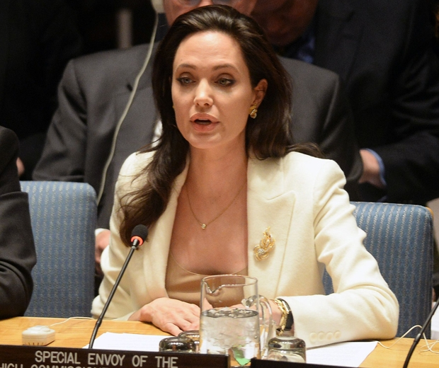 angelina jolie speech at the United Nations event at the Lincoln Center