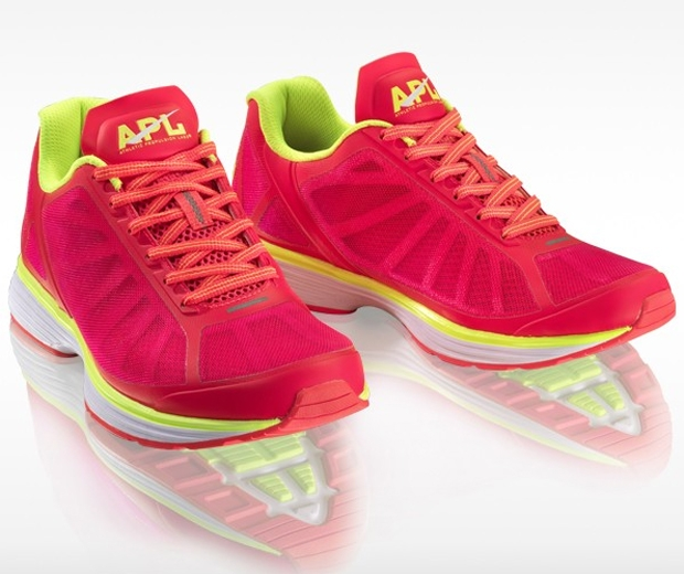 Shop Cheryl Fernandez-Versini's APL running trainers for £102