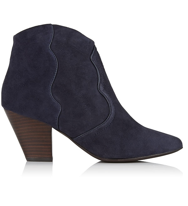 Midnight Gang Suede ankle boots by Ash