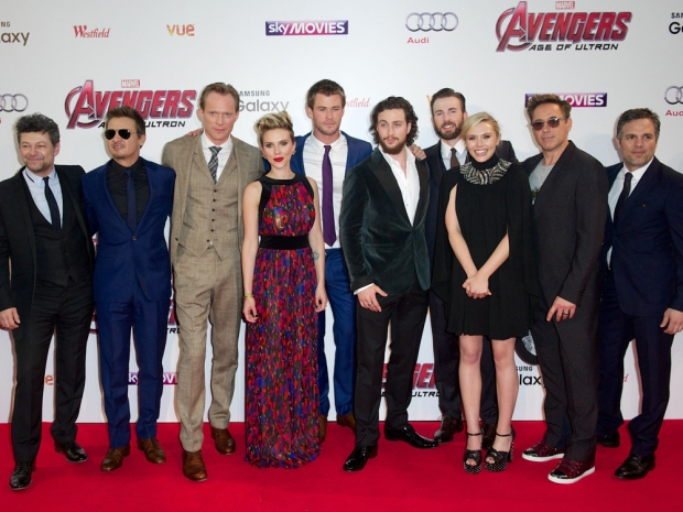 The Avengers: Age Of Ultron cast at the London premiere