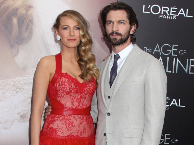 Blake Lively and Michiel Huisman at the New York premiere of The Age Of Adaline