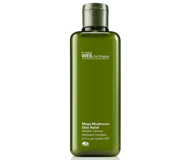 Origins Dr Andrew Weil Mega-Mushroom Skin Relief Micellar Cleanser, £27.50
