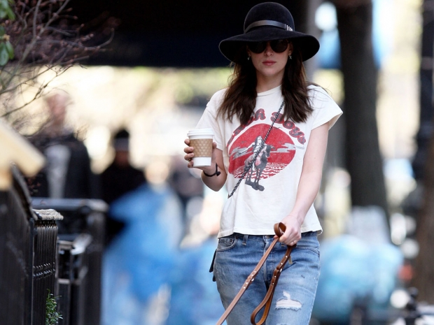 Dakota Johnson has been nailing off-duty style lately
