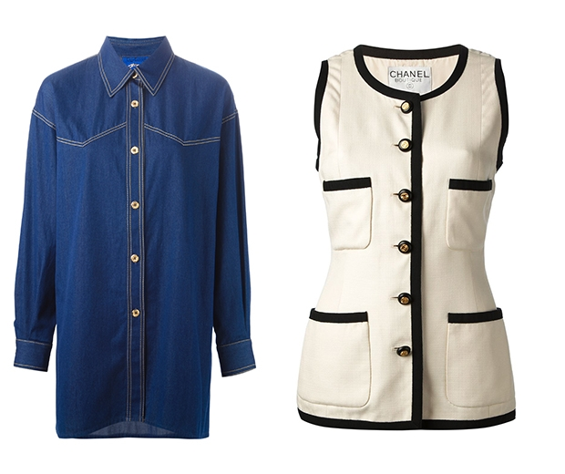 Hello new Chanel sleeveless blazer would you like to come and live with us?
