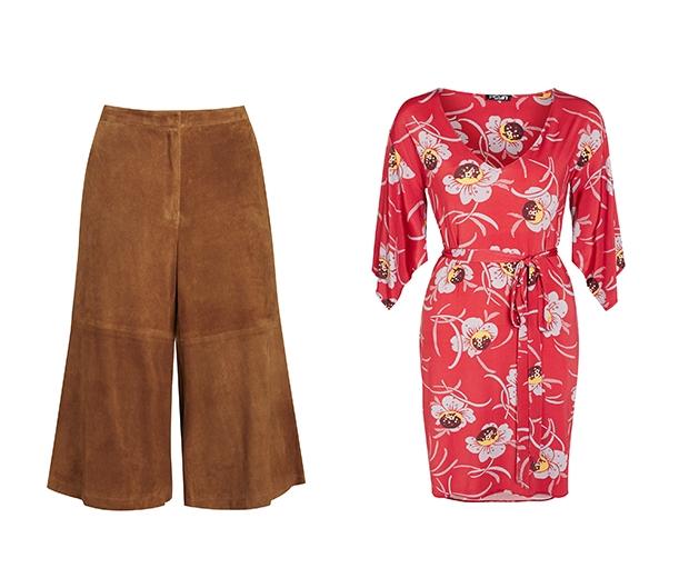 F&F Suede Culottes £80 F&F Floral Dress £20