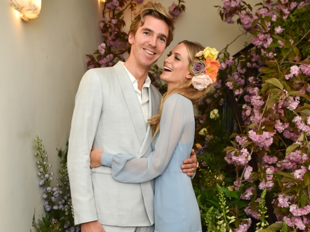 Poppy Delevingne and James Cook at the Blossom Ball