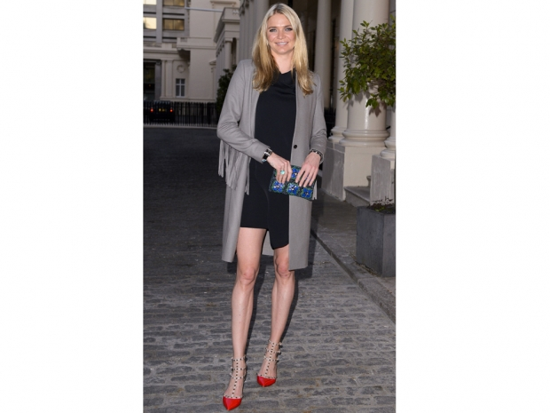 Jodie Kidd at the Magnum pink and black ice cream launch party