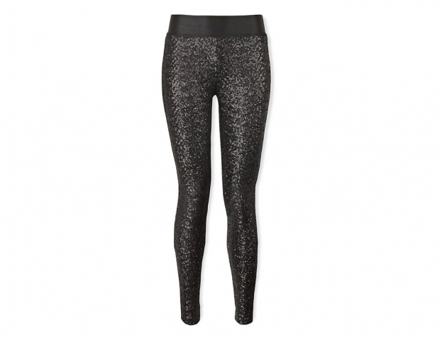 Juicy Couture Sequin Leggings – Black