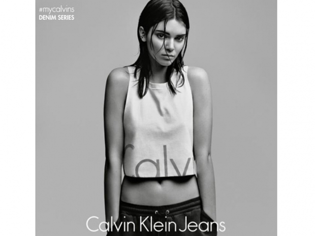 Kendall was recently named as the new face of Calvin Klein