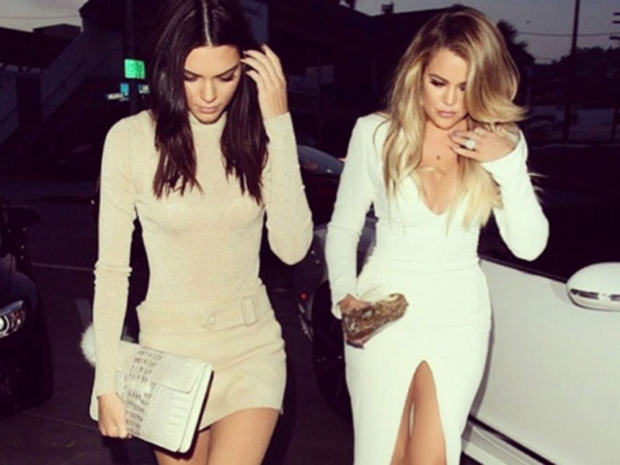 Khloe showed off her famous curves last week