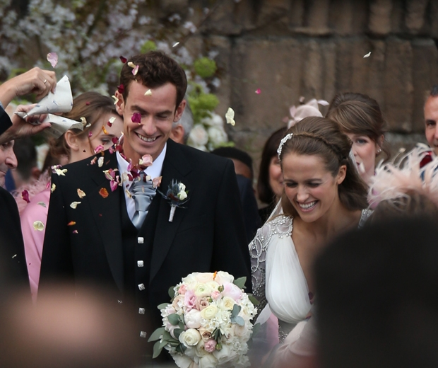 Kim Sears and Andy Murray tied the knot at Dunblane Cathedral at the weekend
