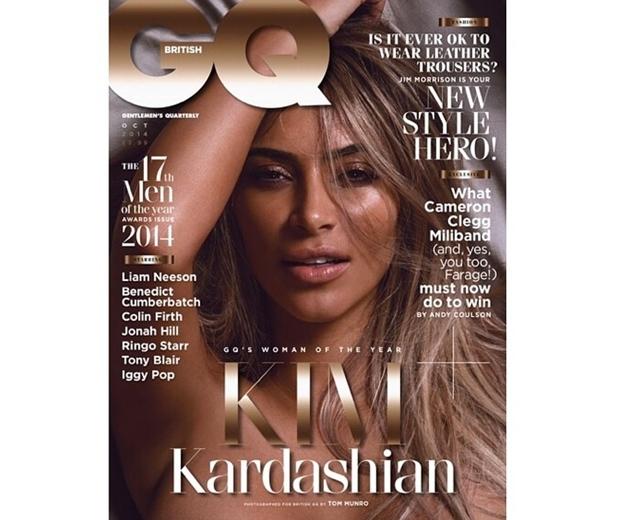 kim kardashian cover of gq