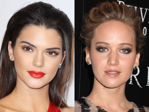 Kendall Jenner and Jennifer Lawrence come in second and third place in FHM