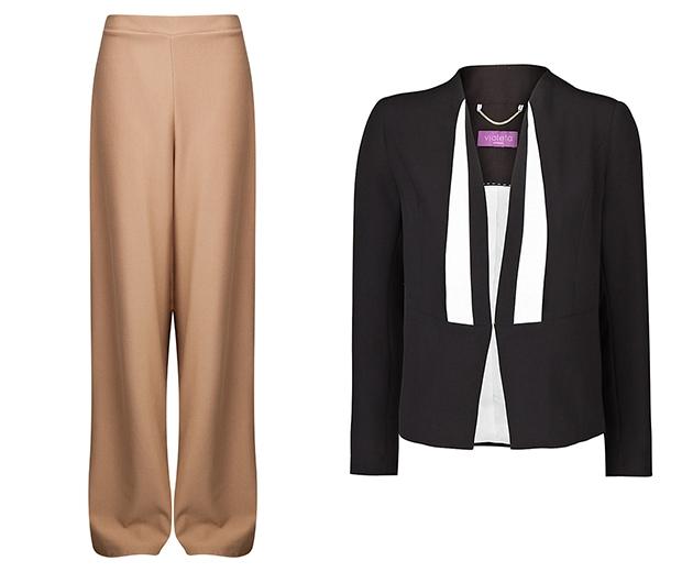 Missgudied trousers, Mango jacket
