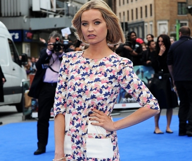 Laura Whitmore with a faux bob