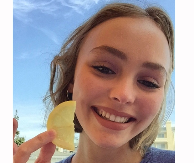 Lily Rose Depp has racked up a whopping 255k Instagram followers