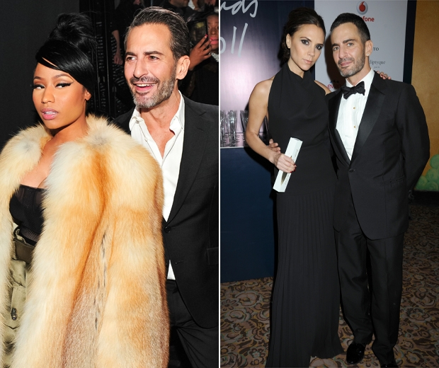 Marc with Nicki and Victoria