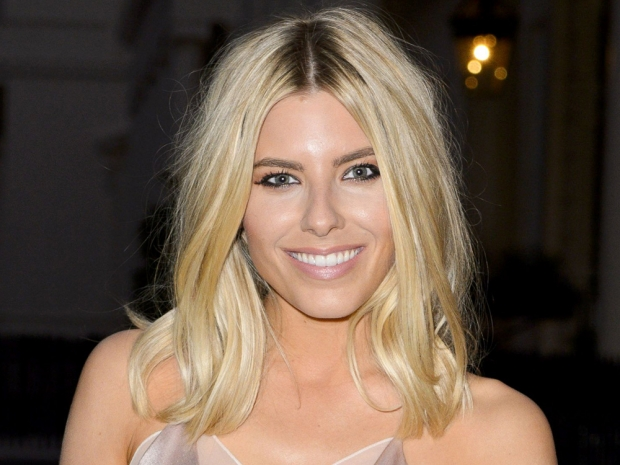 Mollie King's hair and make-up at the Magnum launch party