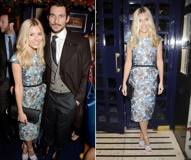 Mollie King and David Gandy dating in 2011