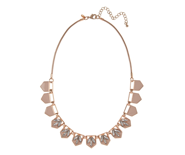M&S Enamel Diamante Necklace, £19.50