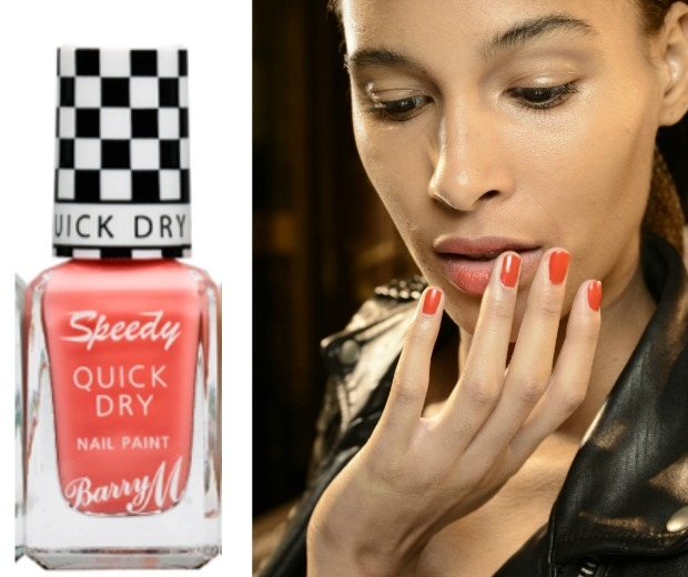 Barry M Speedy Fast Dry Nail Paint in In A Heart Beat, £3.99