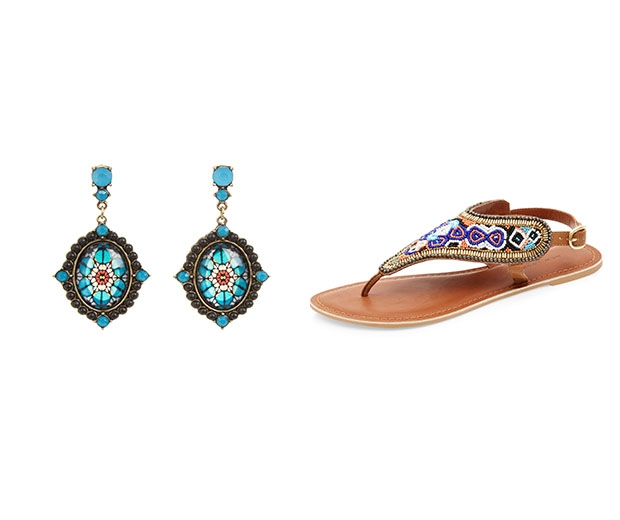 Intricately beaded accessories are top picks