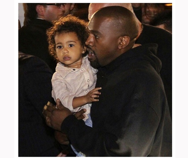 Kanye West and North West spotted in Armenia on holiday yesterday