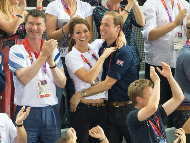 Something tells us Kate was always picked first in PE lessons