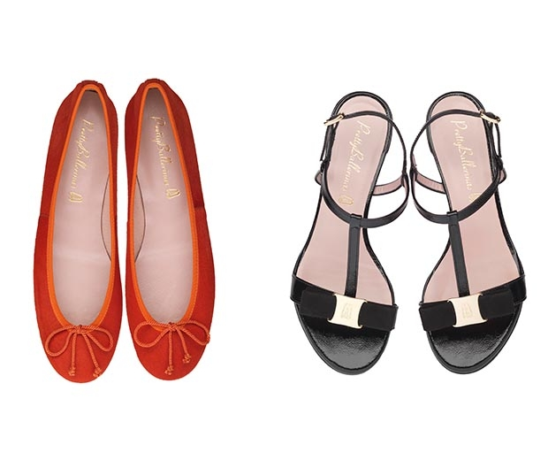 Pretty Ballerinas have included sandals and mule styles in their SS15 collection