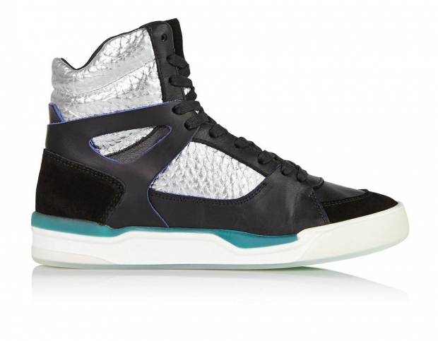 Puma x McQ Metallic Colour Block High-Tops