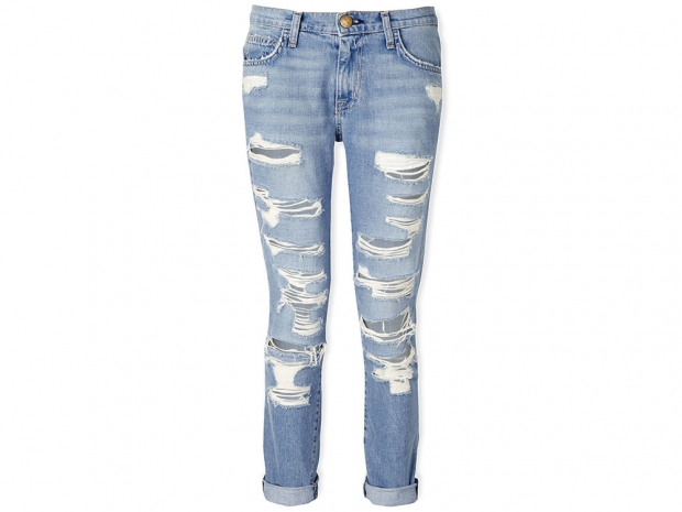 CURRENT/ELLIOTT Fling Slim Fit Boyfriend Jeans