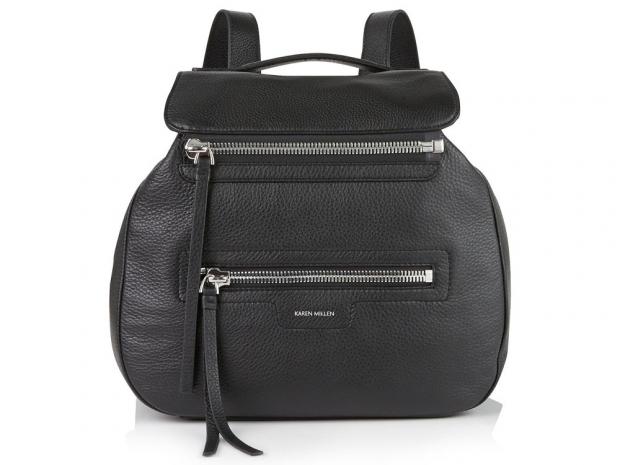 Karen Millen Double Zip Backpack