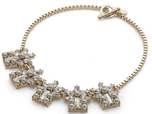 Anton Huenis Crystal Cluster necklace